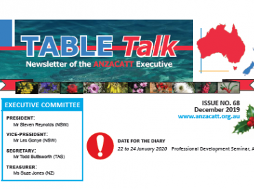 Table Talk - Issue 68 - Front Page